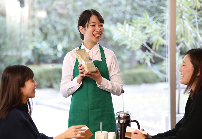 STARBUCKS COFFEE セミナー「コーヒーをはじめよう」