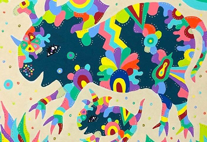 市川市在住の画家、松崎大輔 個展「2020」